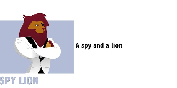 Spy Lion-short-250
