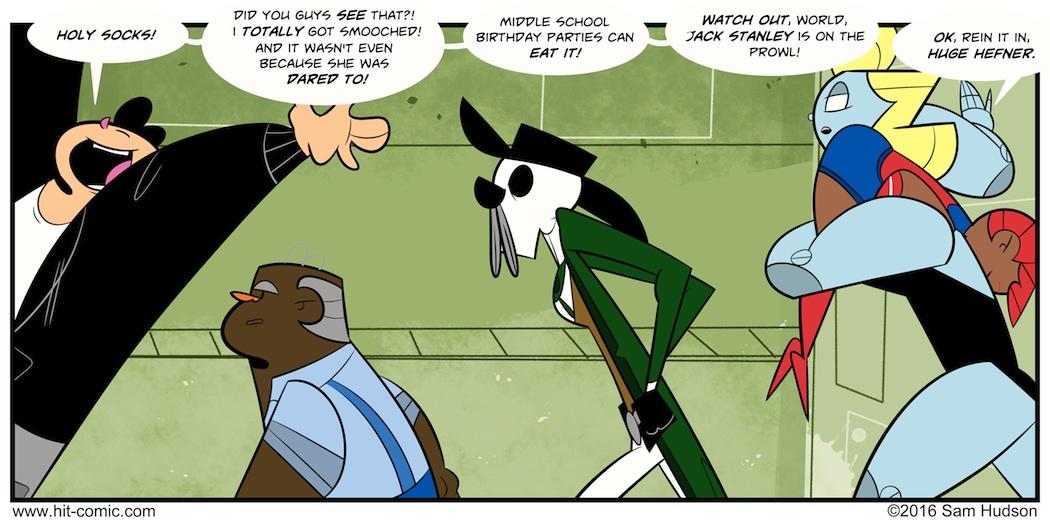 A Comic With Bravado
