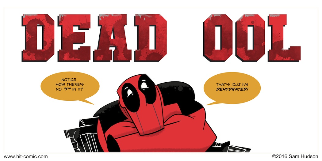 A Comic About Deadpool