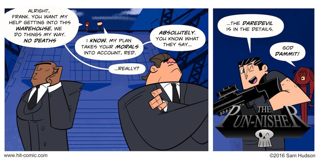 One Last Comic Inspired By Daredevil Season 2