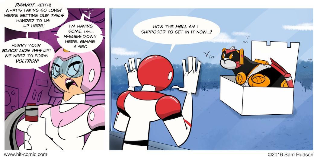 A Comic About Voltron