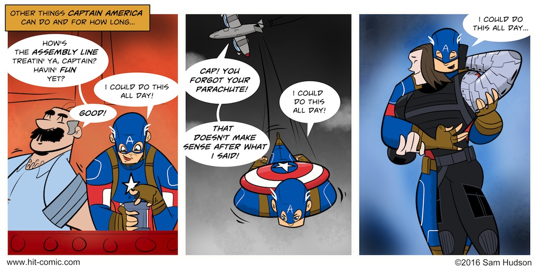 A Comic About Captain America: Civil War