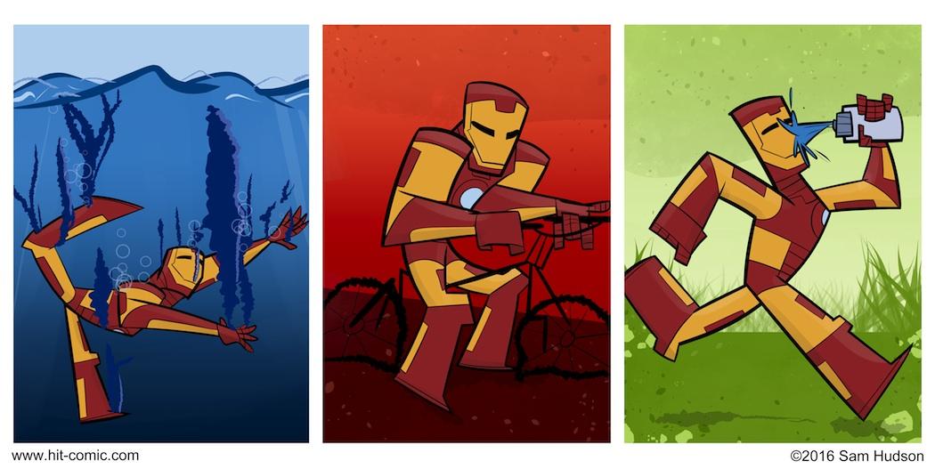 A Comic About Iron Man