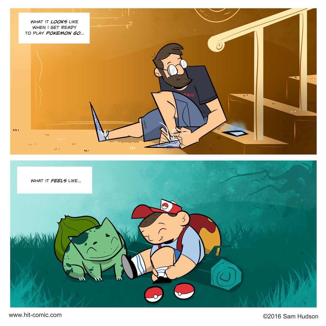 Another Comic About Pokemon Go