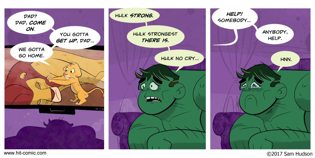 A Comic About The Hulk
