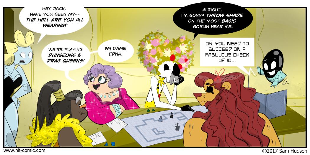 A Comic About D&D