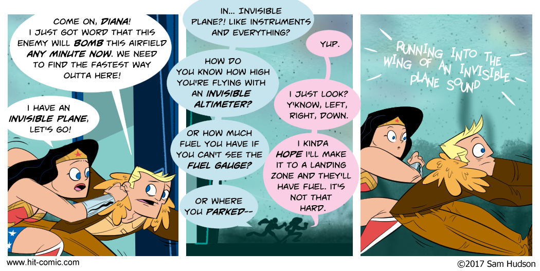 A Comic About Wonder Woman