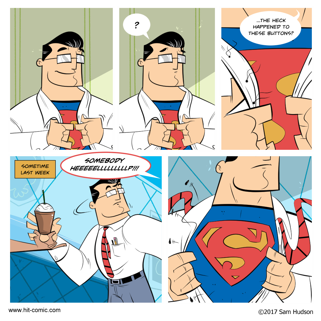 A Comic About Superman's Clothes