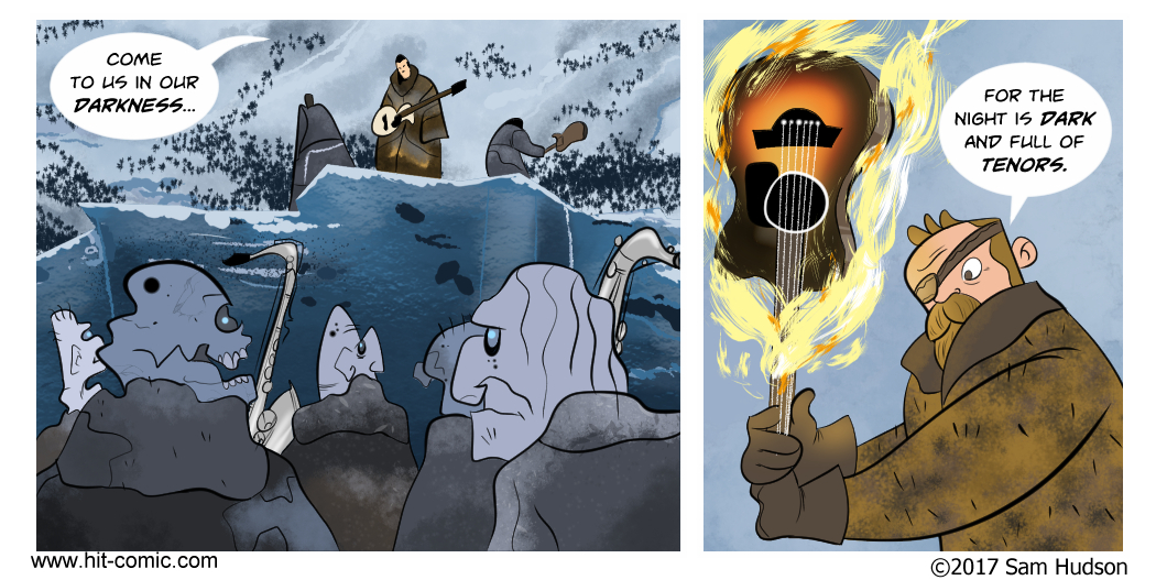 Another Comic About Game Of Thrones