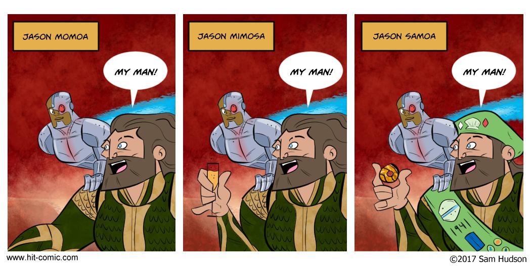 A Comic About Jason Momoa