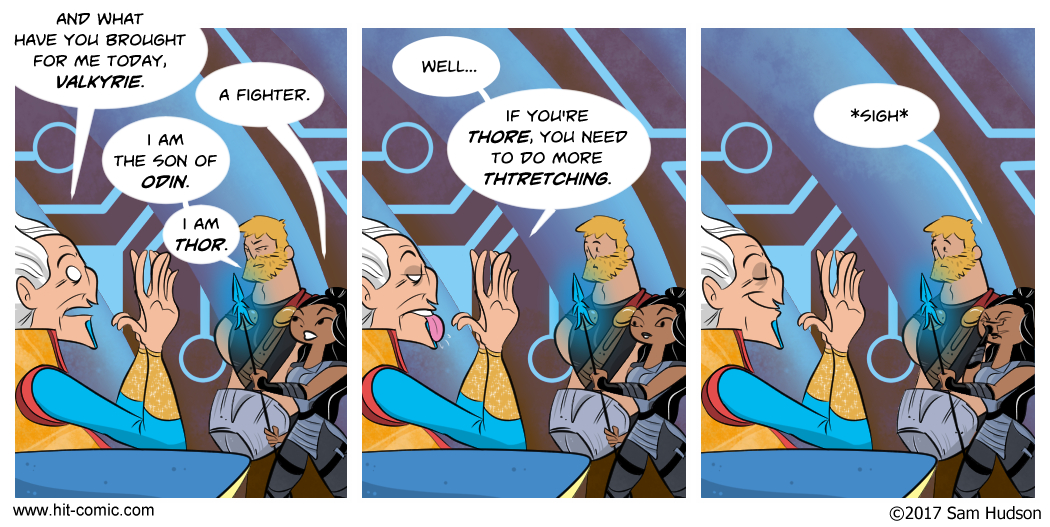 A Comic About Thor